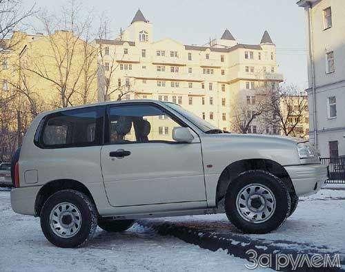 Suzuki Grand Vitara. ИЗДИНАСТИИ САМУРАЕВ— фото 23442