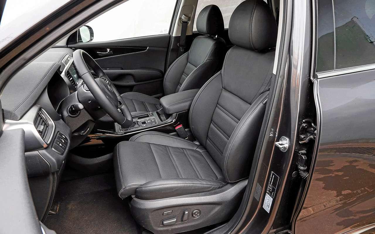 Hyundai Santa Feпротив конкурентов: большой тест кроссоверов— фото 931473