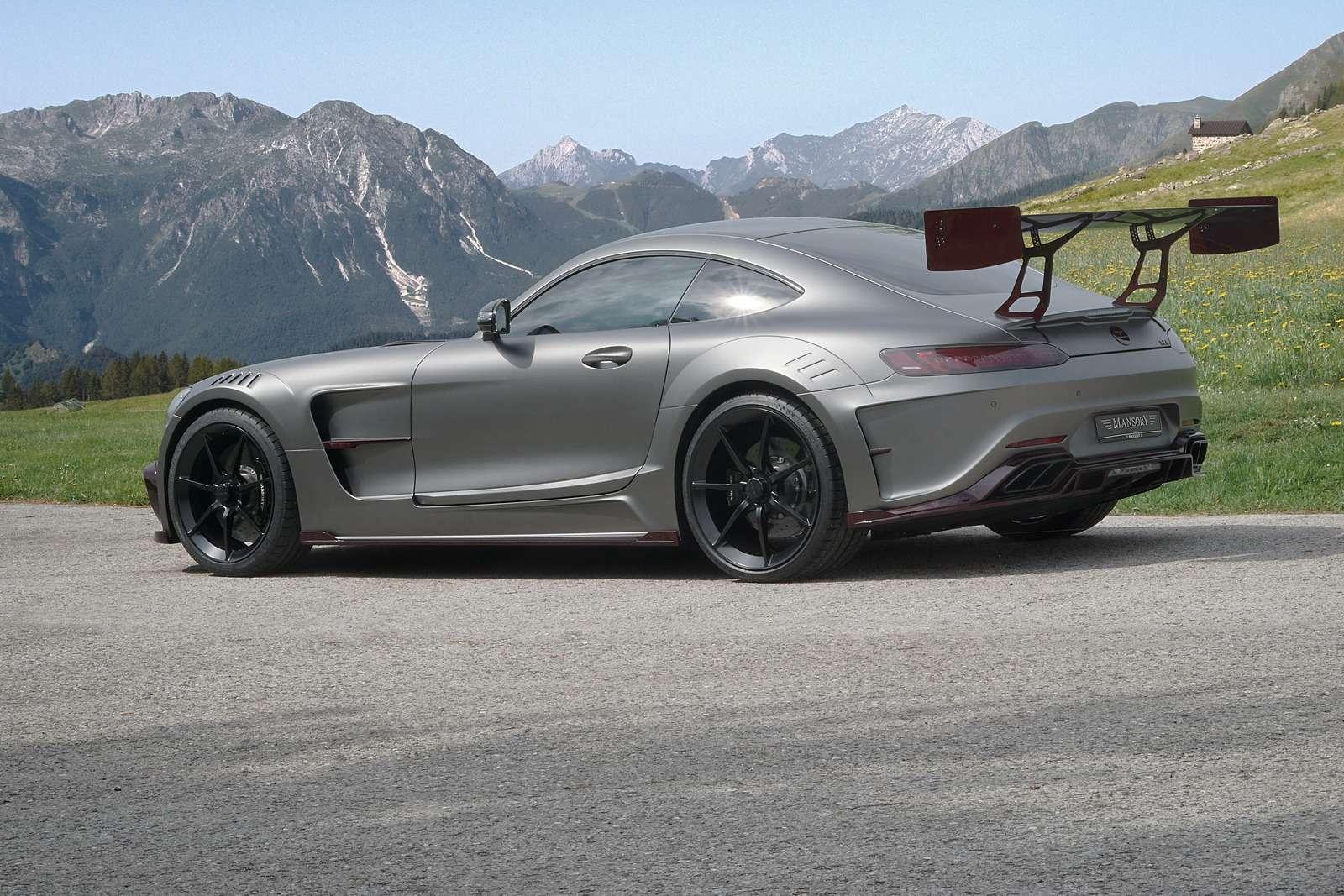 Окрыленный яростью: заряженный Mercedes-AMG GTSрвется вбой— фото 599199
