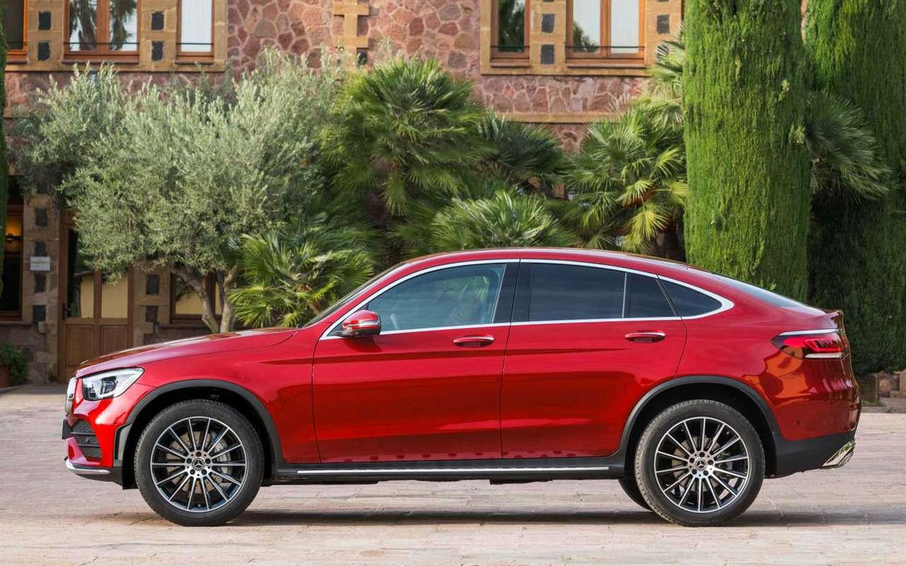 Mercedes-Benz показал обновленный GLC Coupe— фото 958783