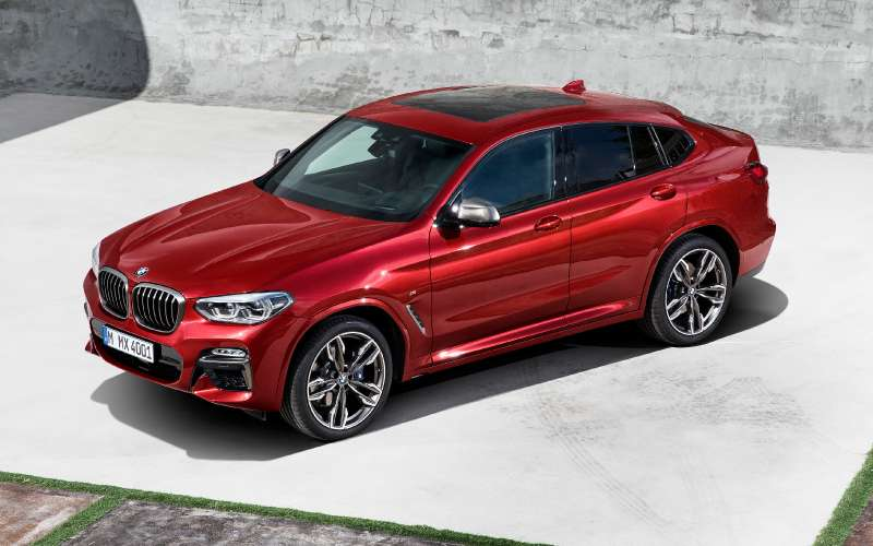 БМВ представил кросс-купе X4 обновленного поколения