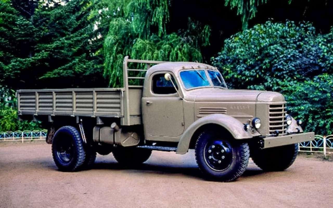 Заслуженный грузовик СССР— ретротест ЗИС-150— фото 1150086