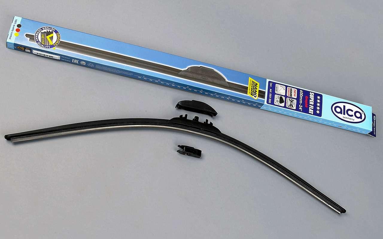 Супертест «Зарулем»: выбрали лучшие щетки стеклоочистителей— фото 1261947