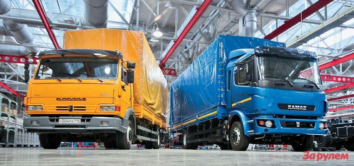 КАМАЗ-5308с новой узкой кабиной обещает стать еще более интересным, особенно всочетании стентованным прицепом