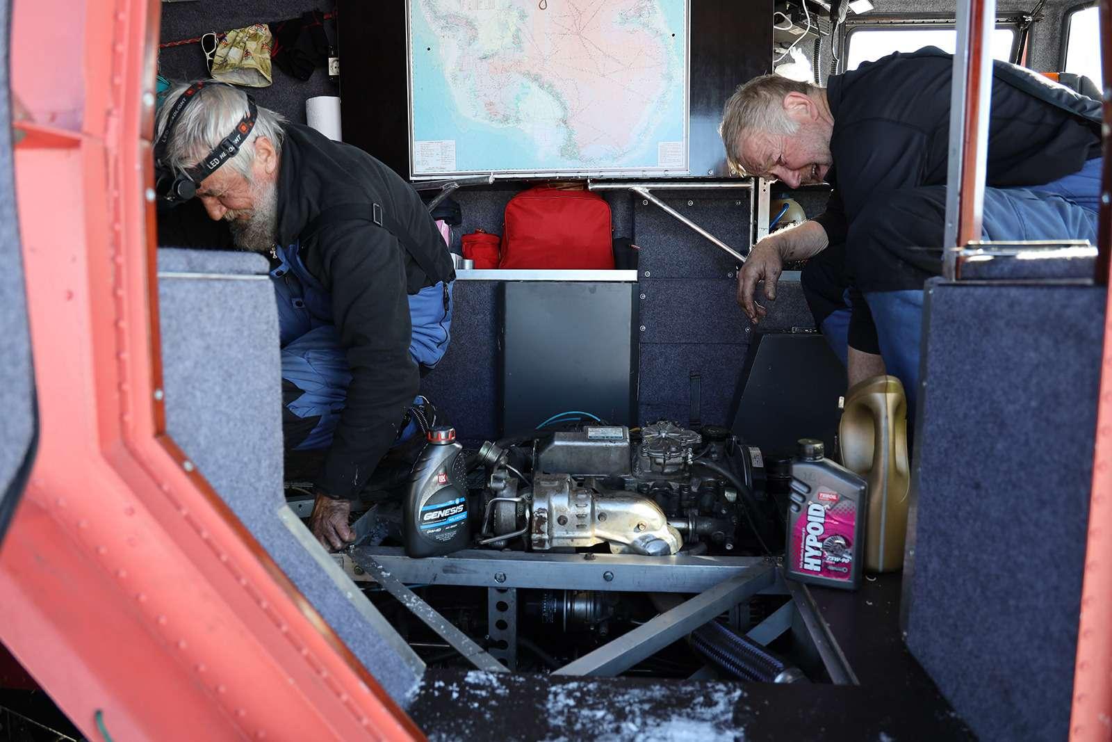 Есть рекорд: самый длинный автопробег через Антарктиду— фото 958565