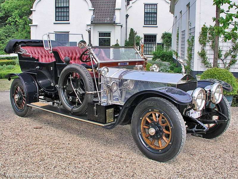 Rolls Royce 40 50 HP Silver Ghost no copyright