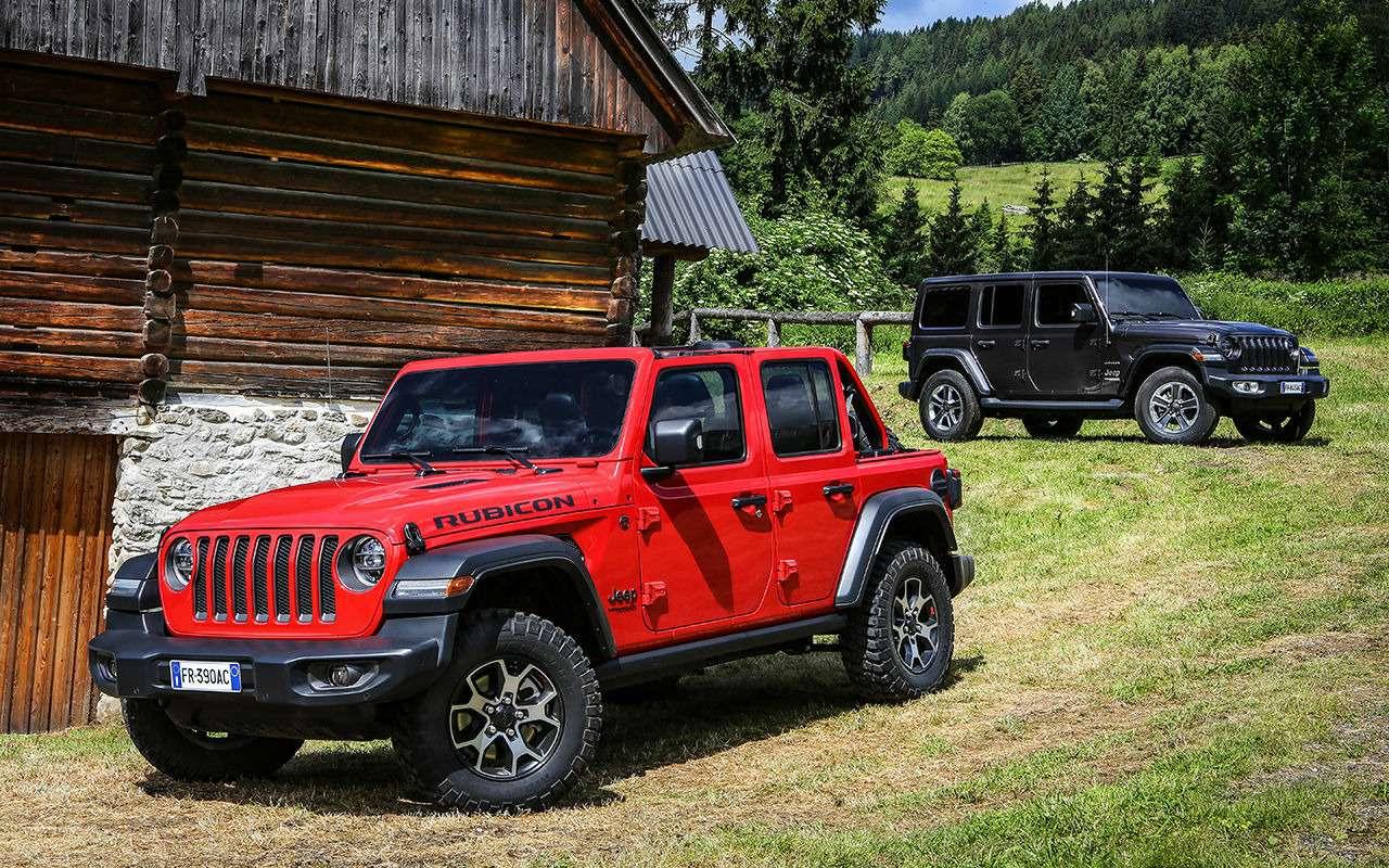 Новый Jeep Wrangler: конструктор длявзрослых— фото 886715