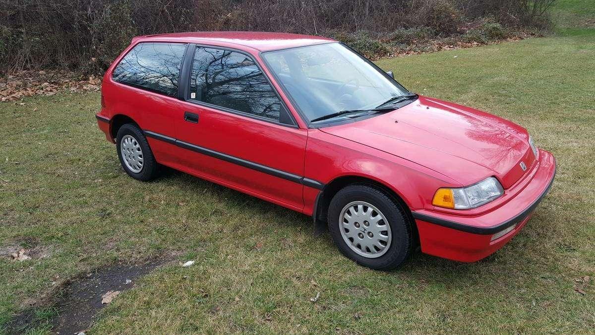 Бабушка ездила вцерковь: идеальная Honda Civic 1991 года напродажу!— фото 698721