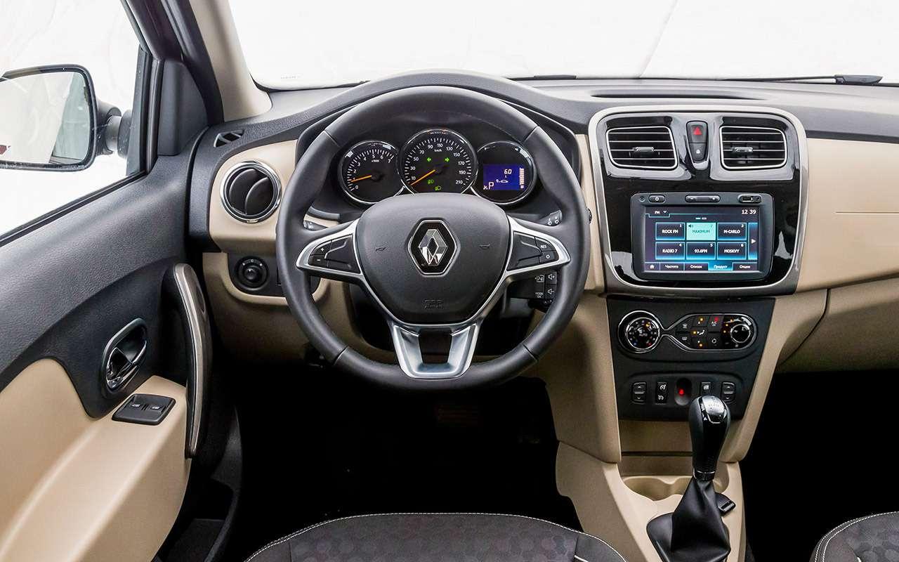 Тест-драйв по-новому: 14честных ответов про Renault Logan— фото 1004733