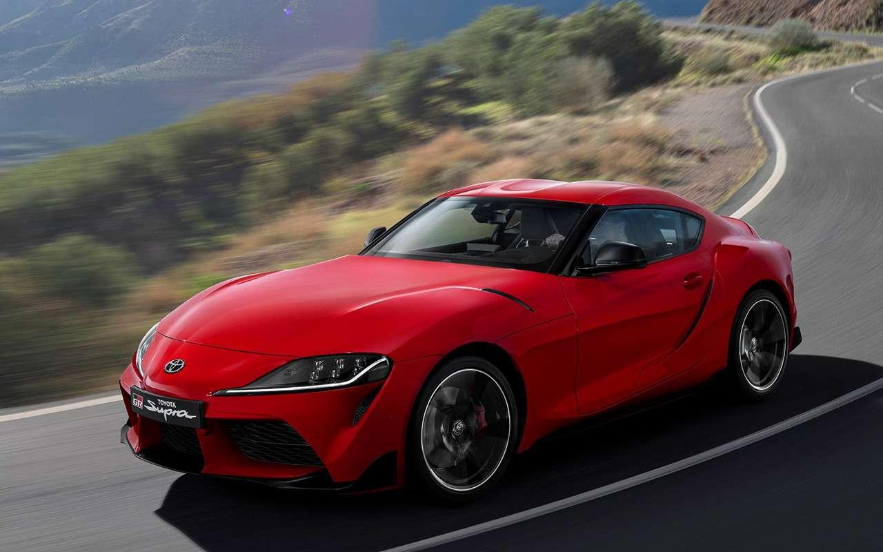 Новая Toyota Supra: комплектации ицены— фото 978228