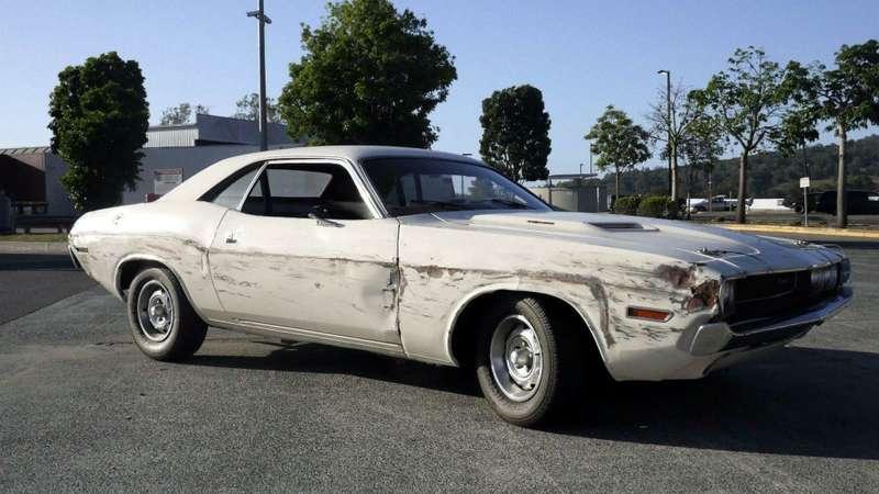 EBay: Продается Dodge Challenger из«Доказательства смерти» Тарантино