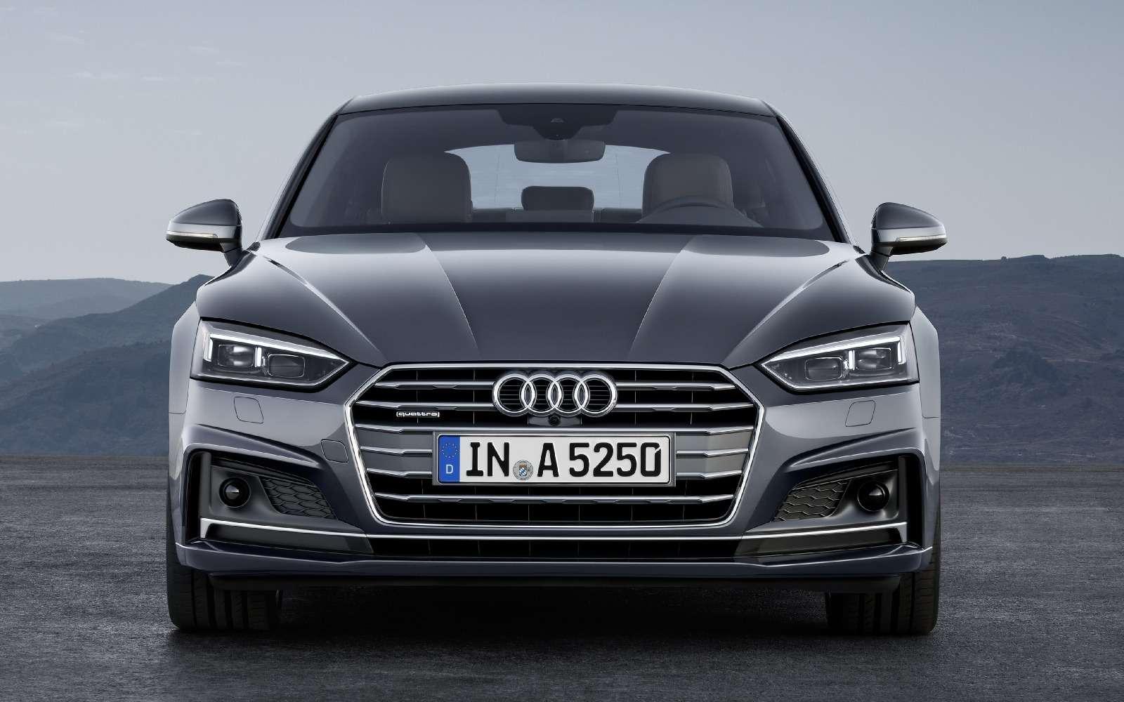 Пятая точка: Audi показала новый A5Sportback— фото 631259