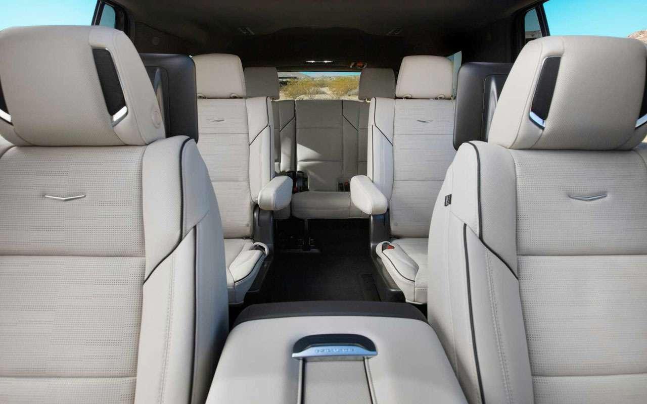 Новый Cadillac Escalade— 36динамиков и38