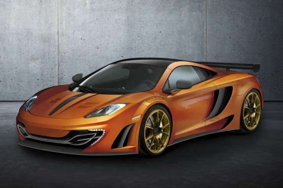 McLaren MP4-12C byMansory side-front view