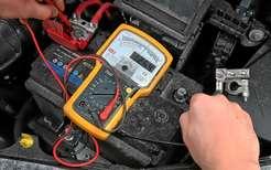 проверка аккумулятора вольтметром