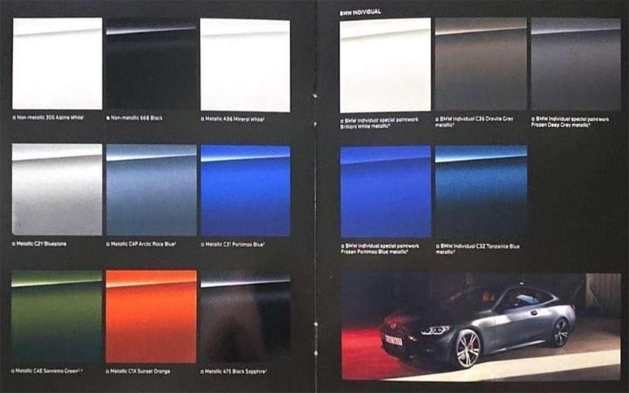 Новый BMW 4-й серии: первые фото перед премьерой— фото 1137120