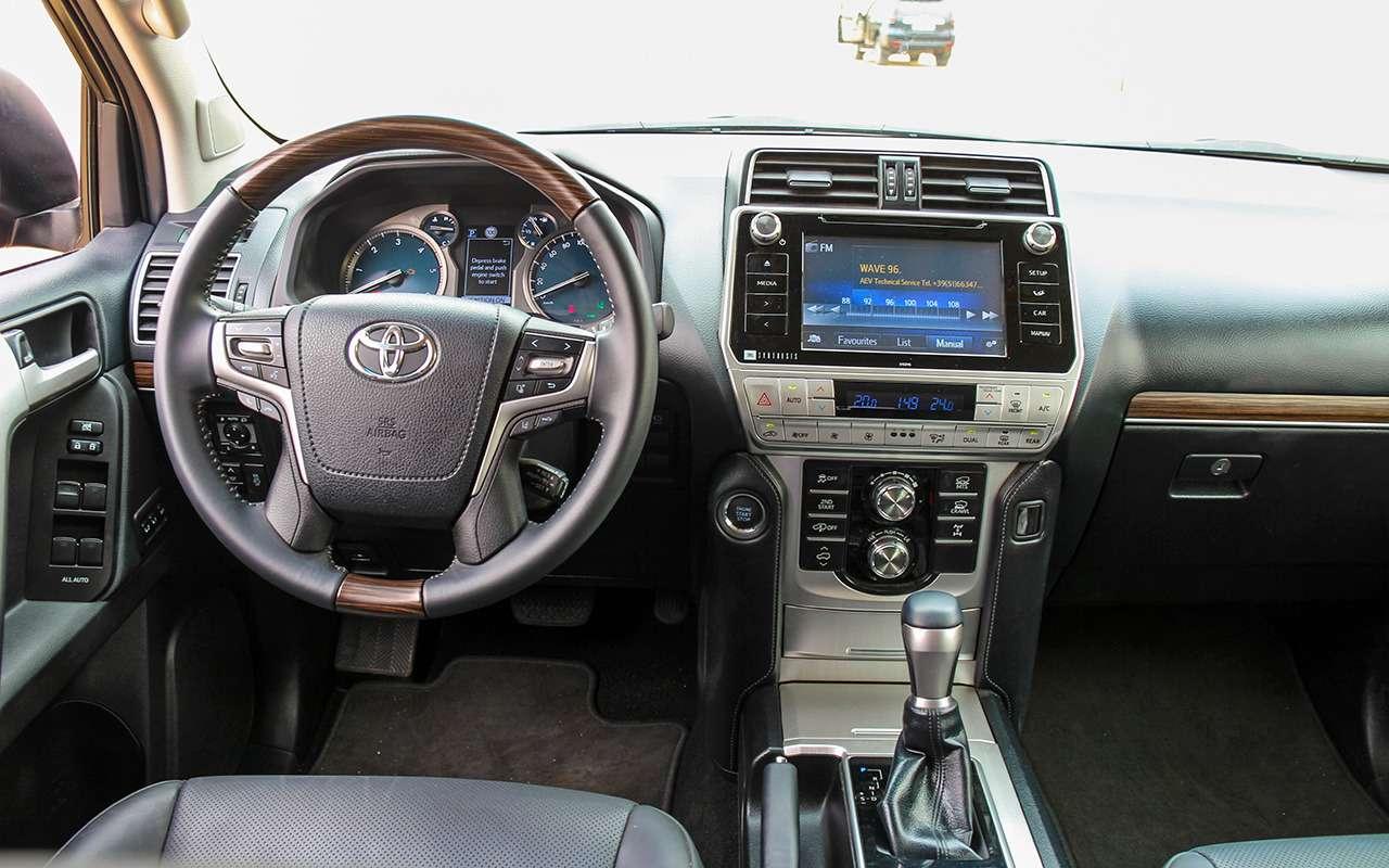 Toyota Land Cruiser Prado: онивАфрике Прадо!— фото 863392