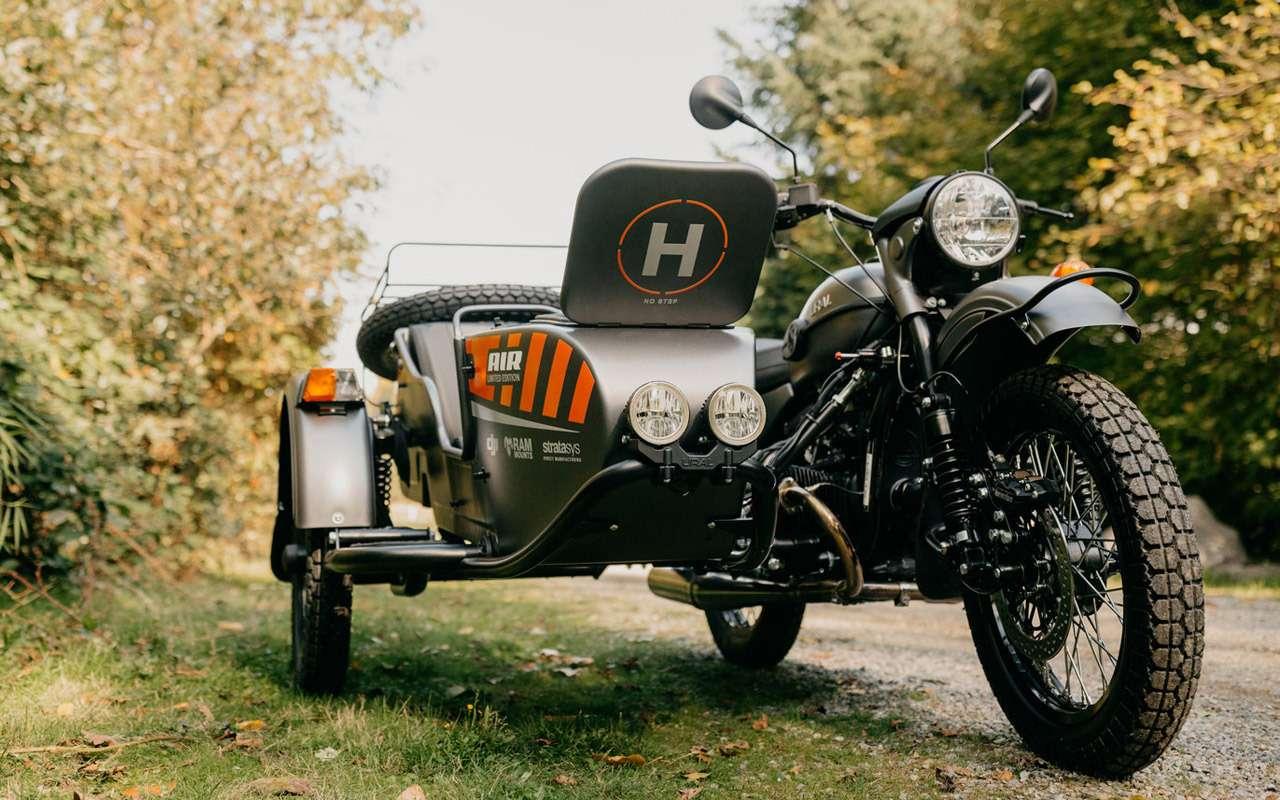 Урал Air: первый мотоцикл сдроном— фото 916717