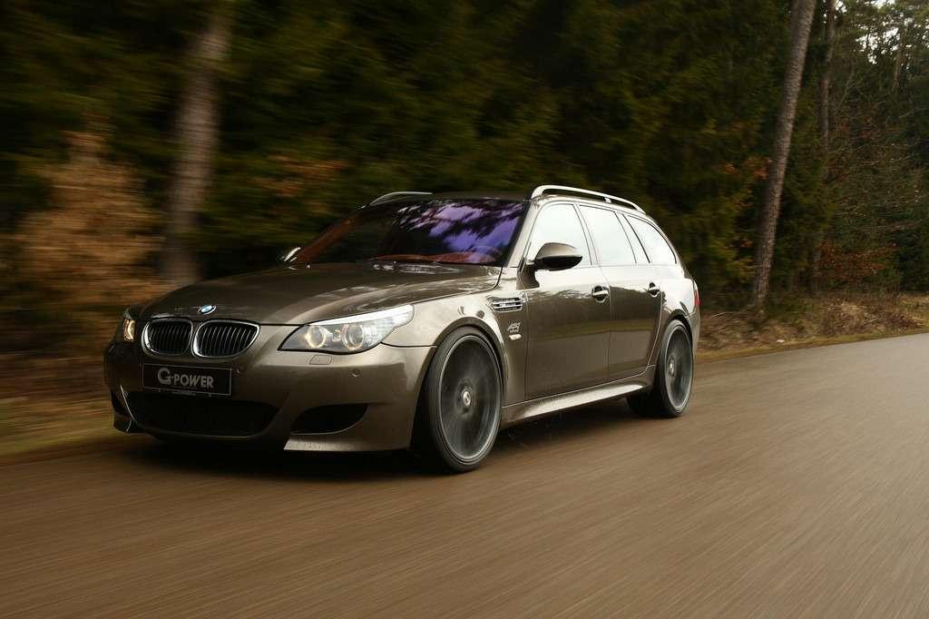 G-Power разогнал универсал BMW M5Touring до360 км/ч