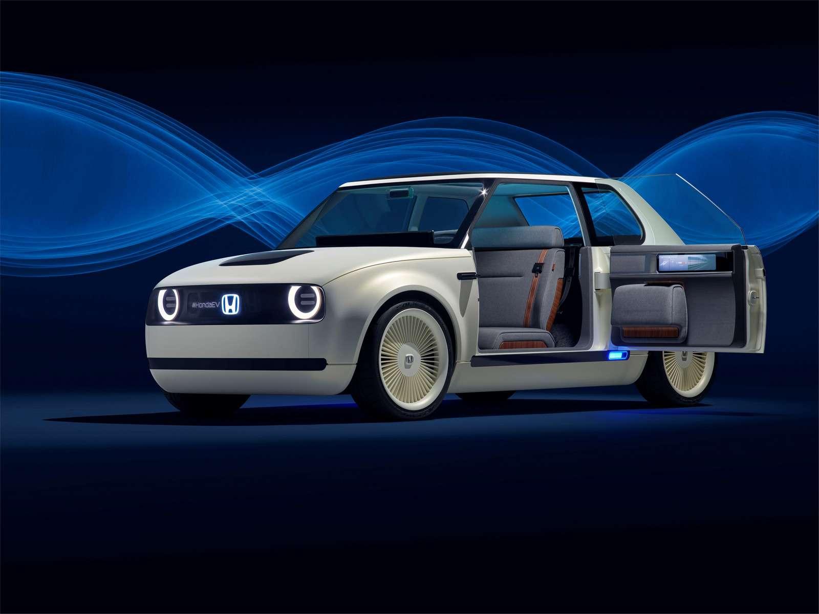 Honda показала хэтчбек будущего сдизайном изпрошлого— фото 793873