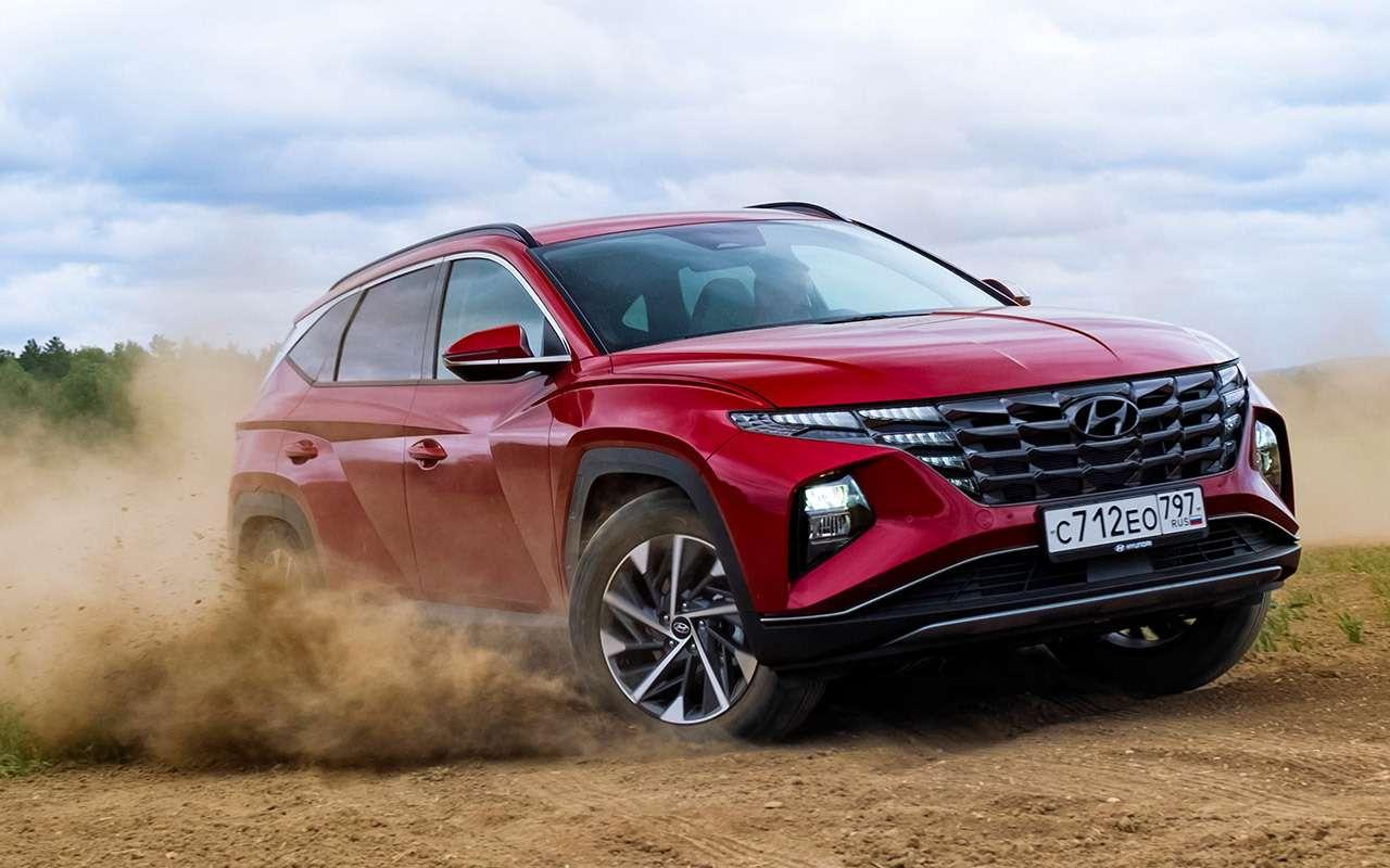 Новый Hyundai Tucson: выбрали оптимальную версию (из25!)— фото 1269656