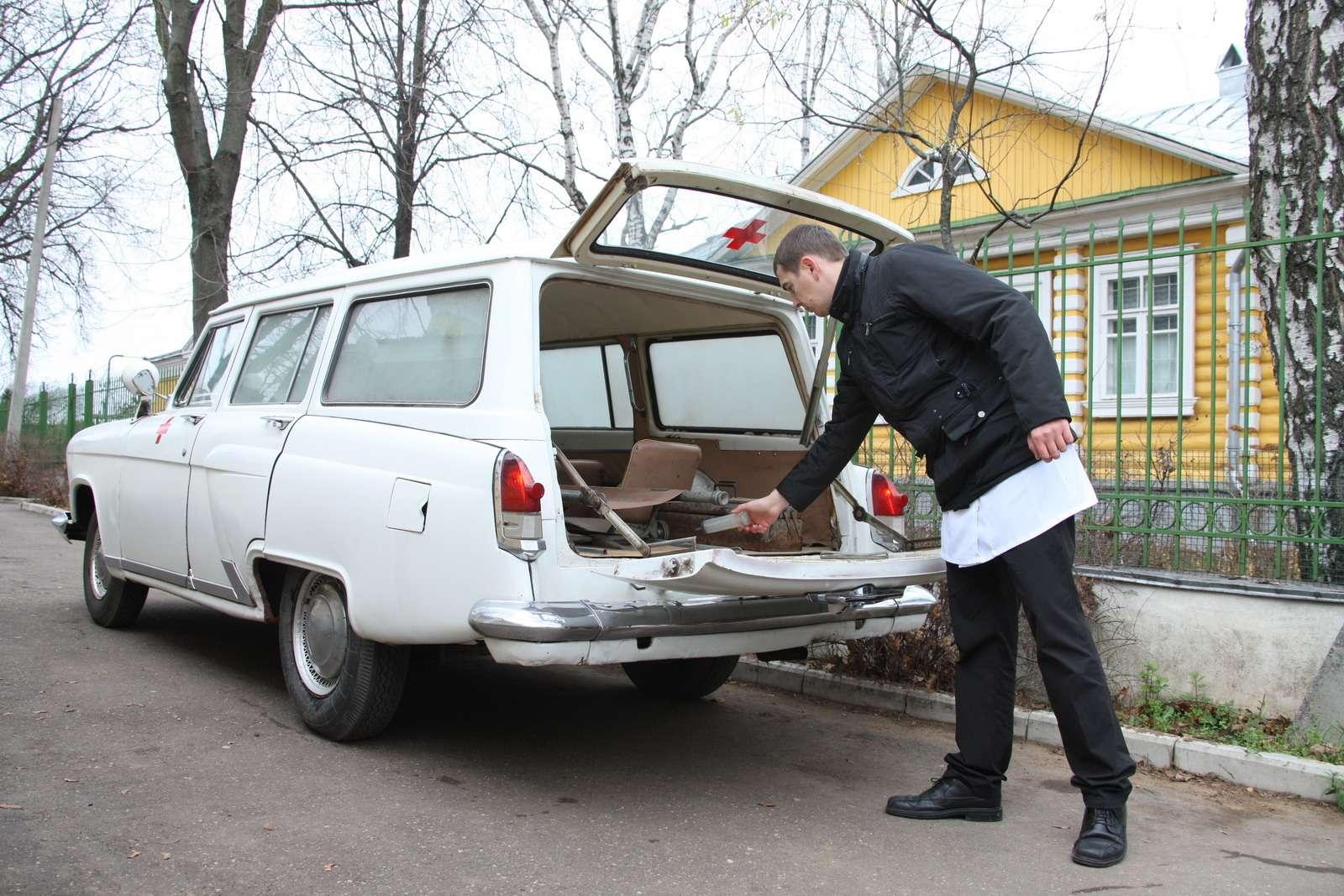 ГАЗ-22Д «Волга»: спасти исохранить— фото 682811