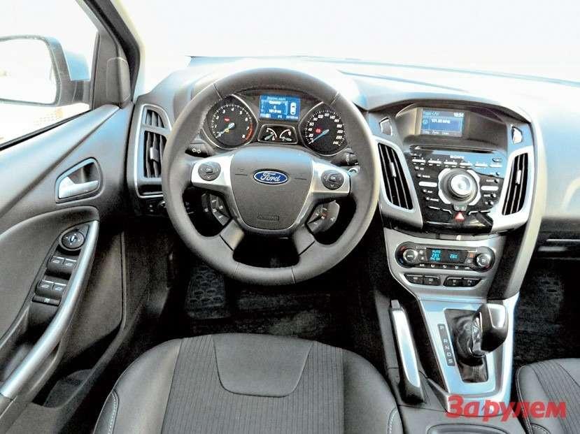 «Форд-Фокус», комплектация «Тренд-Спорт»/«Титаниум»