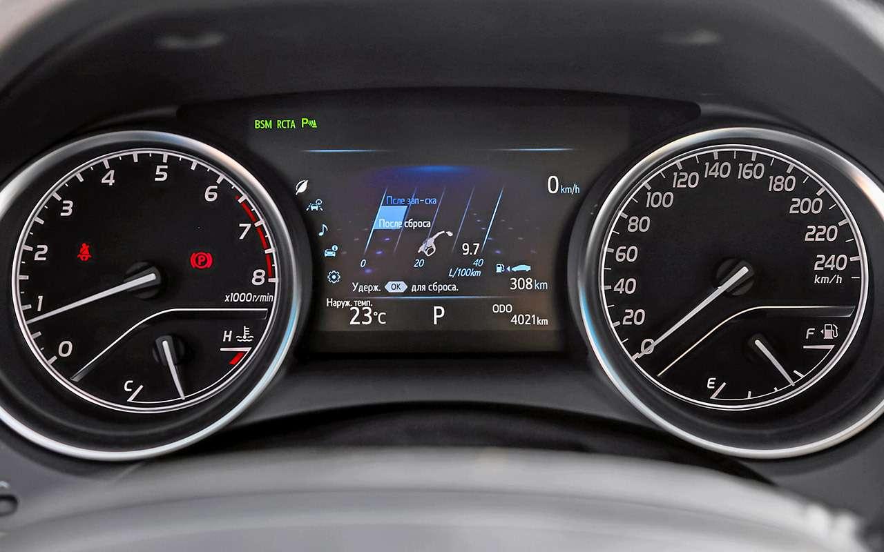 Toyota Camry против конкурентов— сравнительный тест— фото 882436