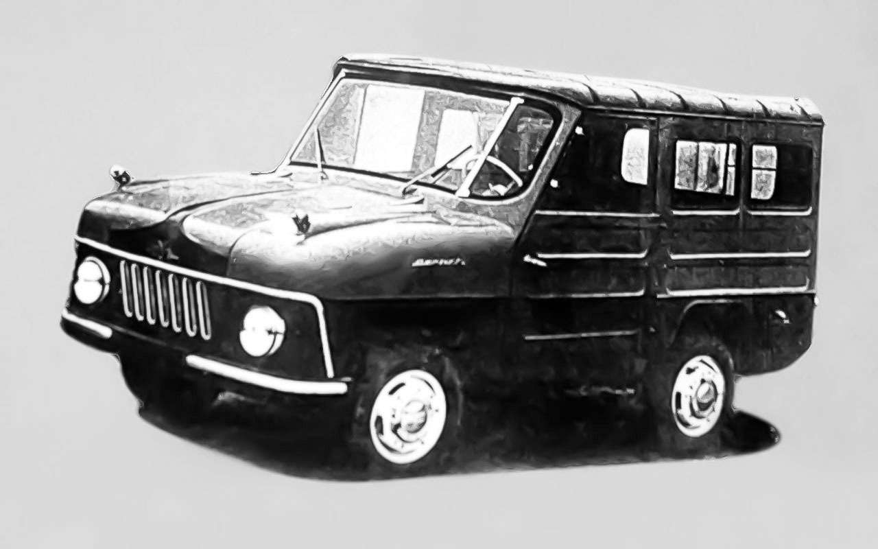13народных автомобилей СССР, которых какбы не было— фото 1001097