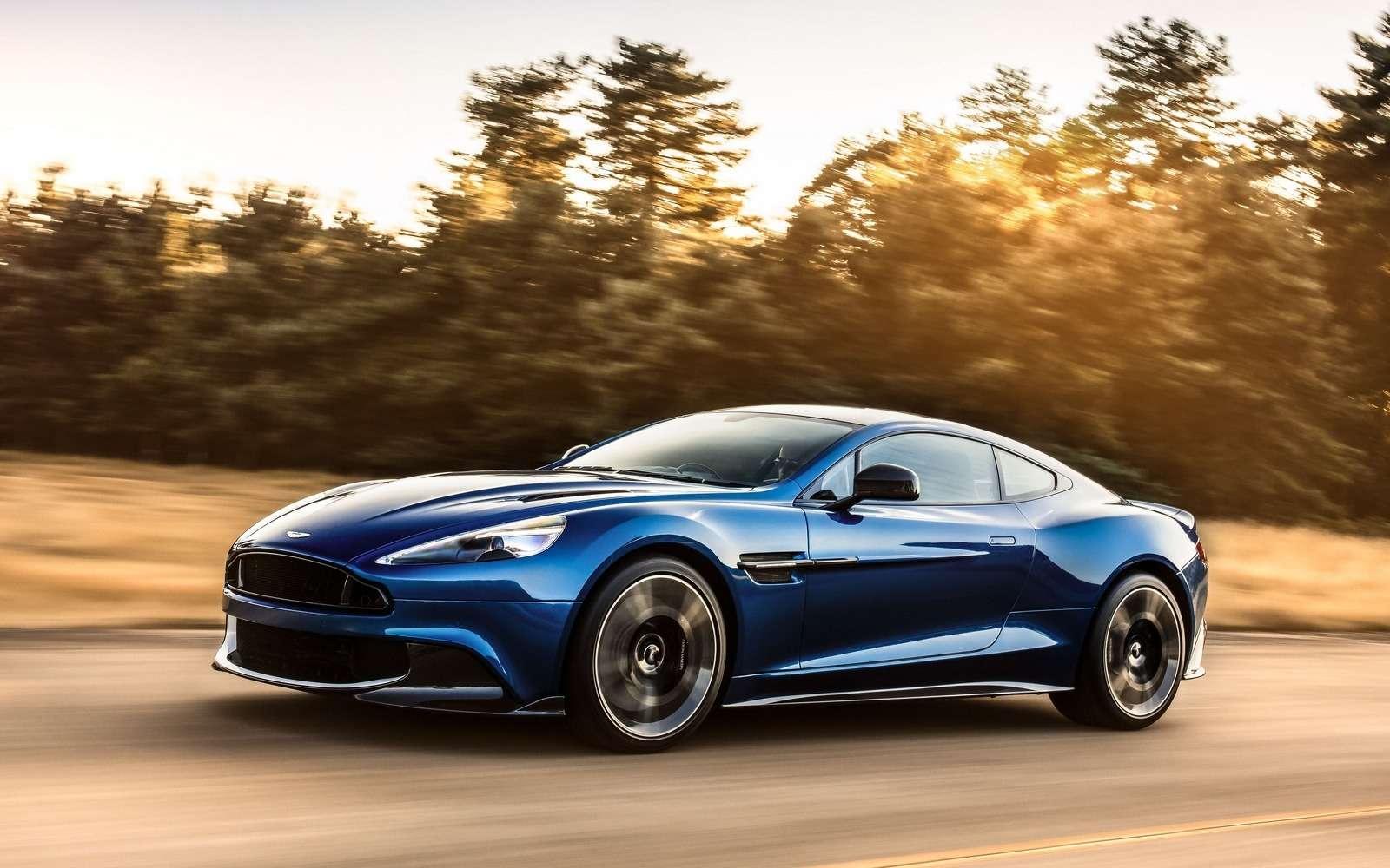С прочищенной глоткой: Aston Martin представил новый Vanquish S— фото 664680