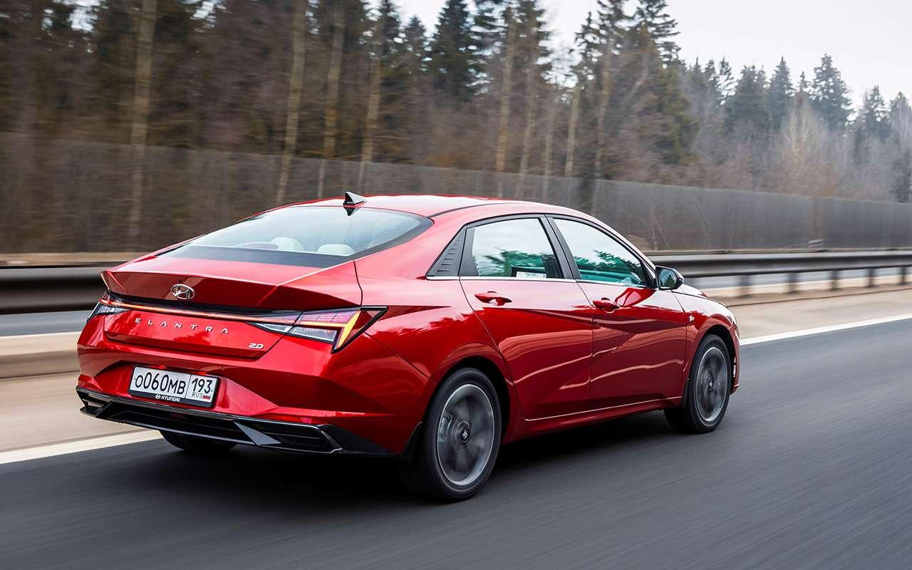 Новая Hyundai Elantra— тест российской глубинкой— фото 1247132