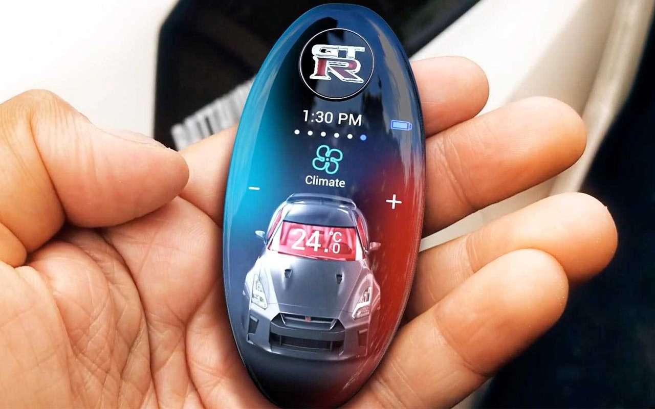 Nissan разработал дляGT-R невероятный ключ— фото 935879