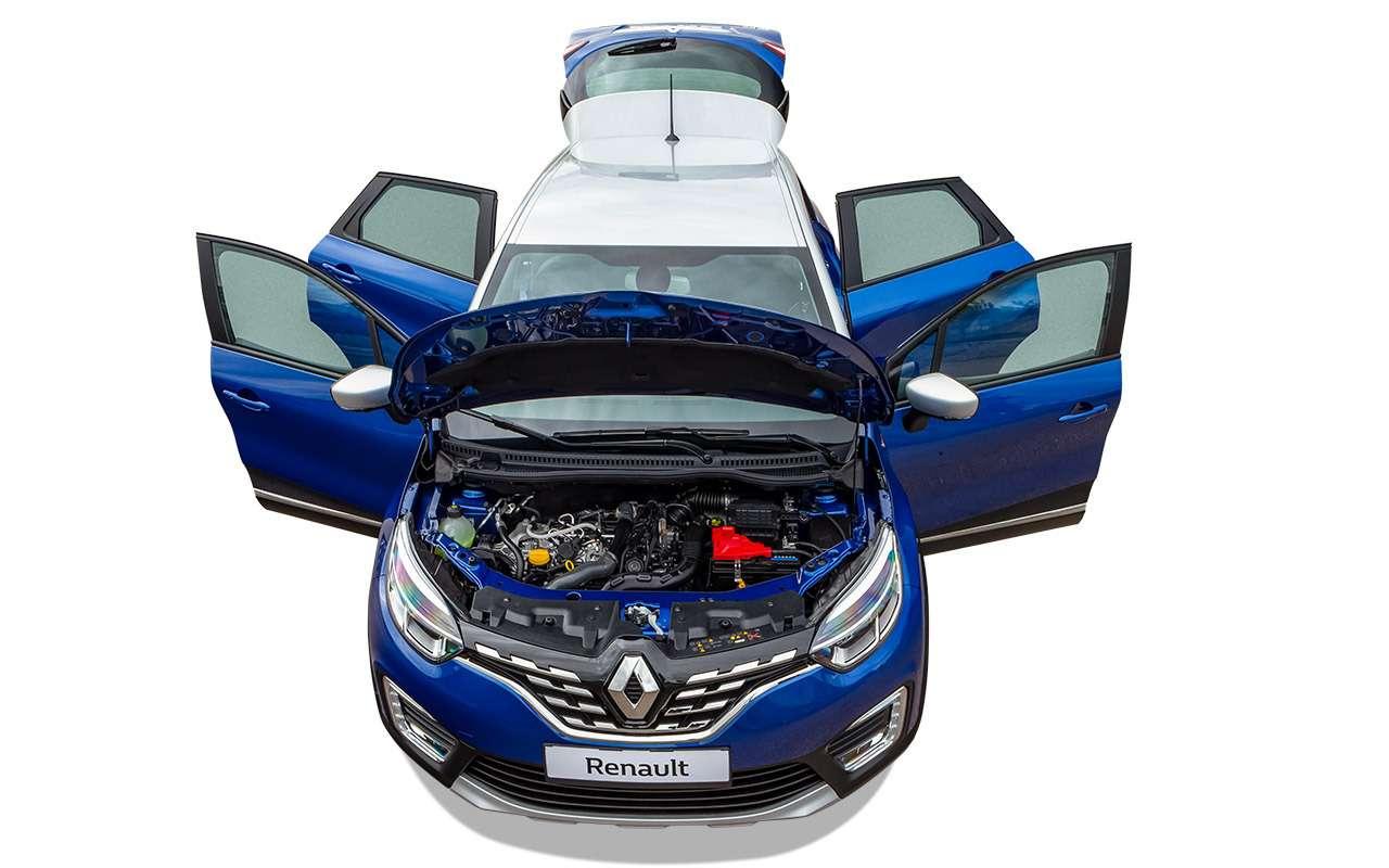 Renault Kaptur 2020: тест-драйв ивсе изменения— фото 1142422