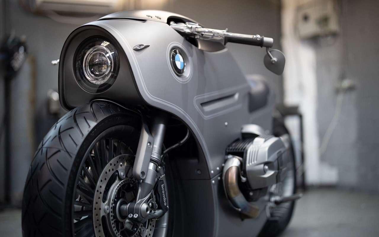 Это вообще реально? Российский мастер создал мотоцикл позаказу BMW Motorrad— фото 1138772