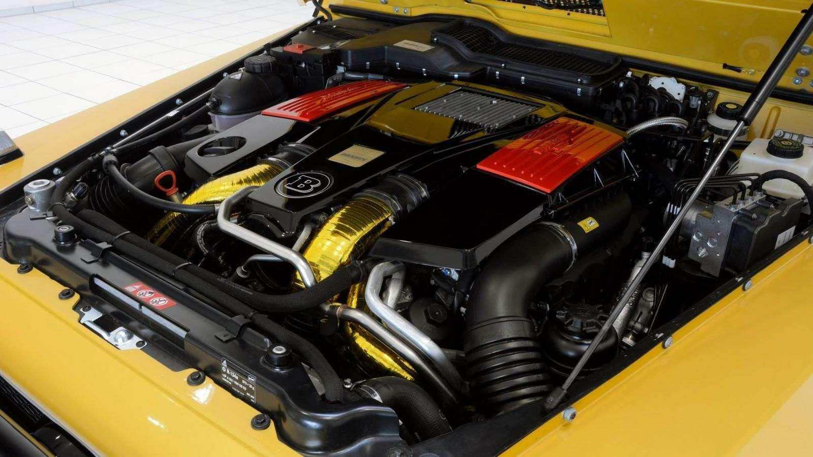 Brabus-такси: желтый Mercedes-AMG G63 готов «бомбить» поавтобанам— фото 577303
