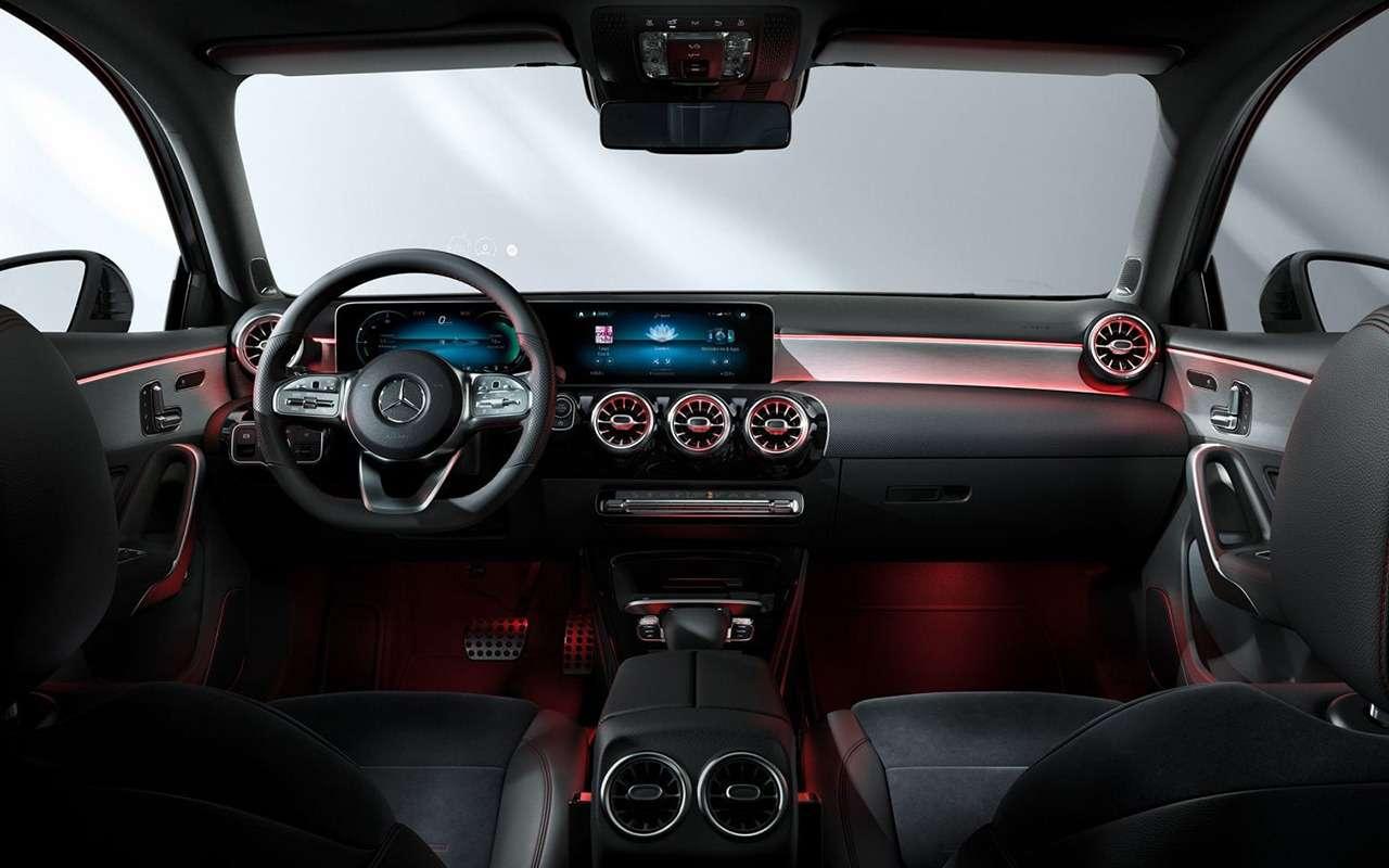 Дамский угодник: женский взгляд нановый Mercedes-Benz А200— фото 994964