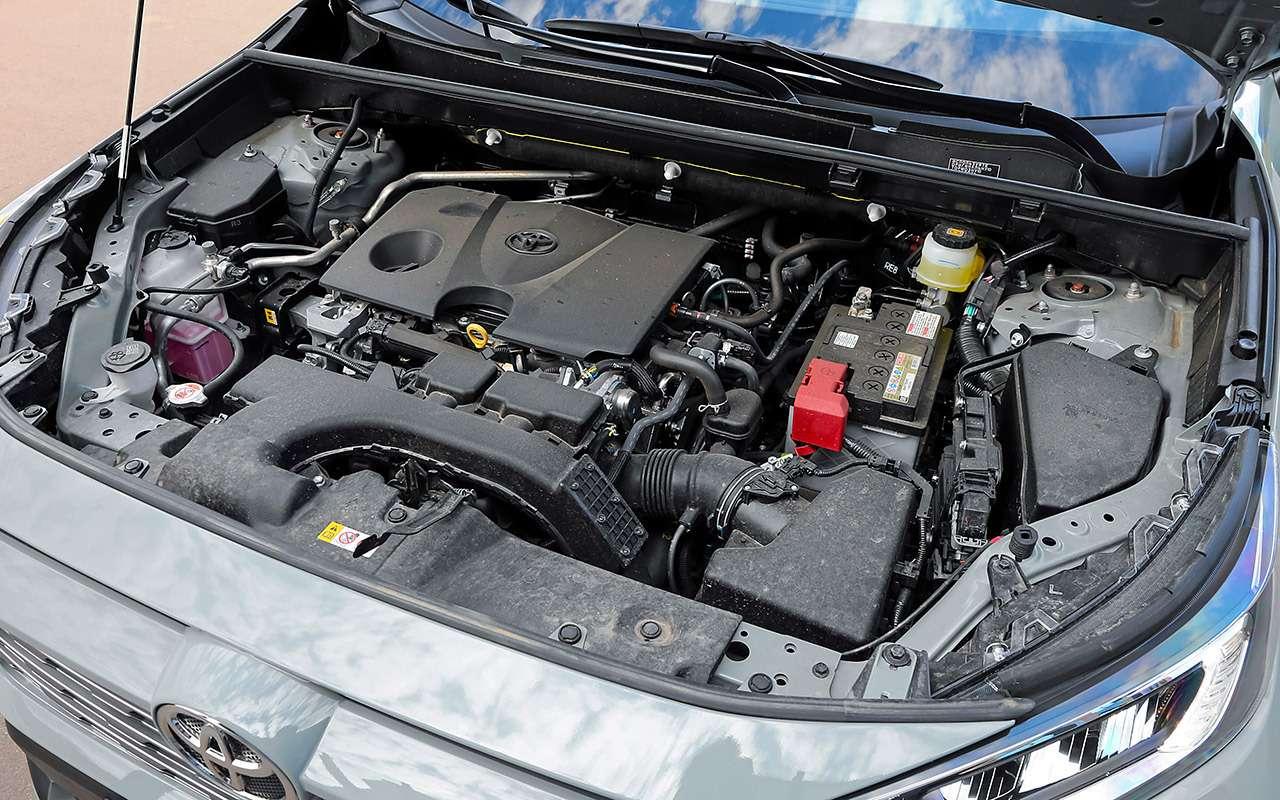 Toyota RAV4и Opel Grandland X— большой тест— фото 1202899