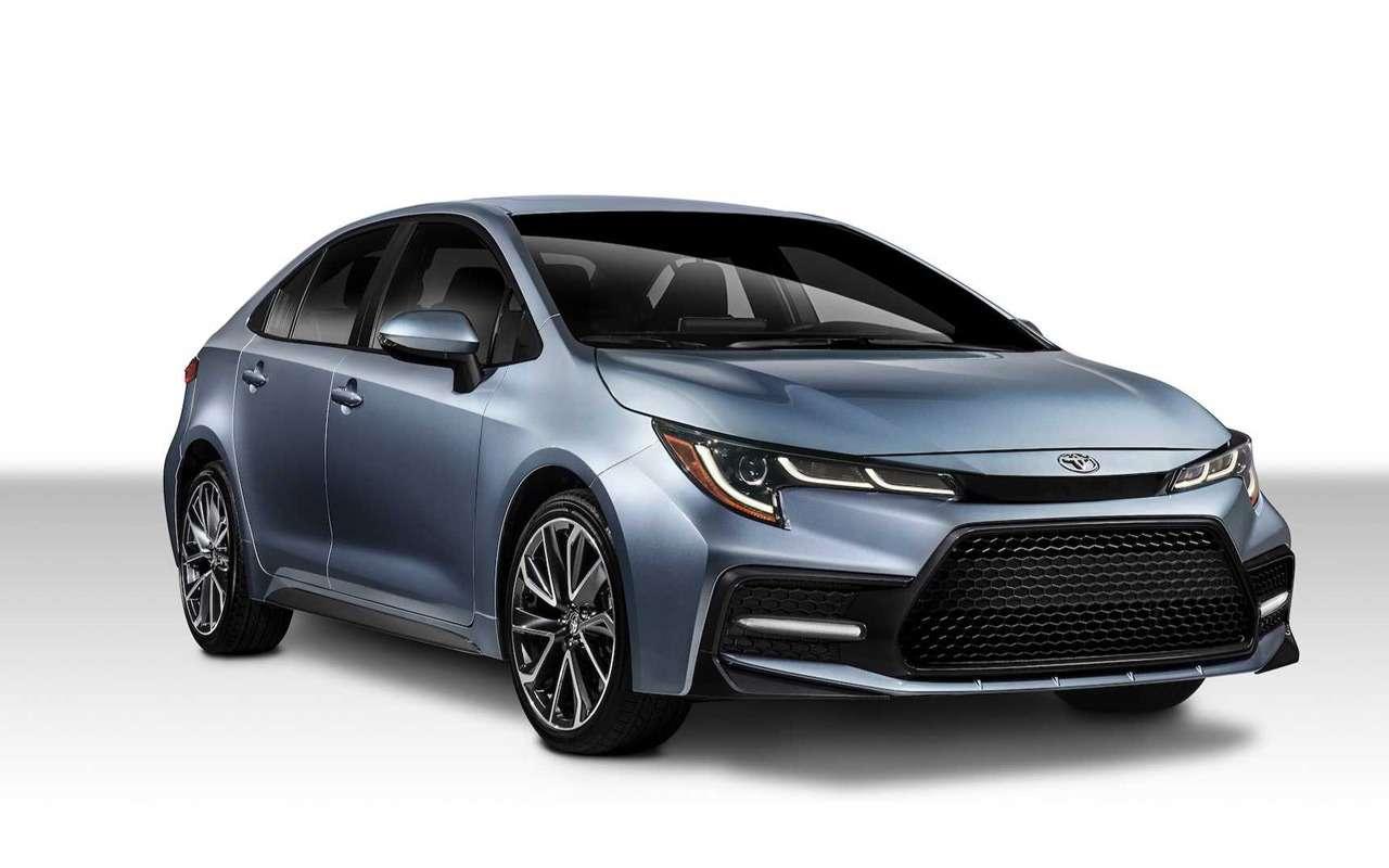 Toyota показала новую Короллу— фото 923265