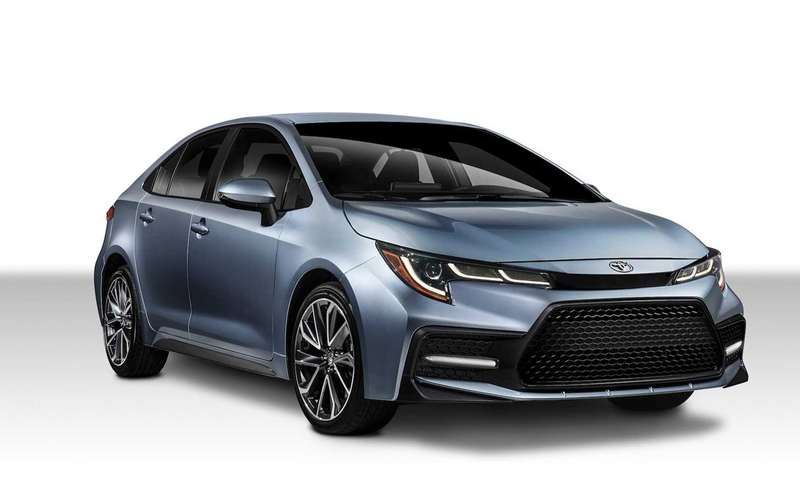 Toyota показала новую Короллу