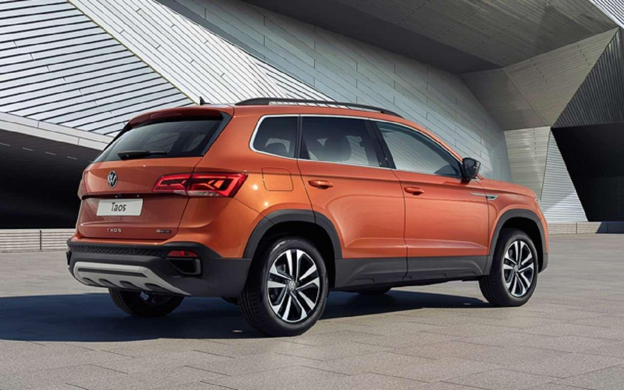 Volkswagen Taos: российские двигатели иоснащение— фото 1228181