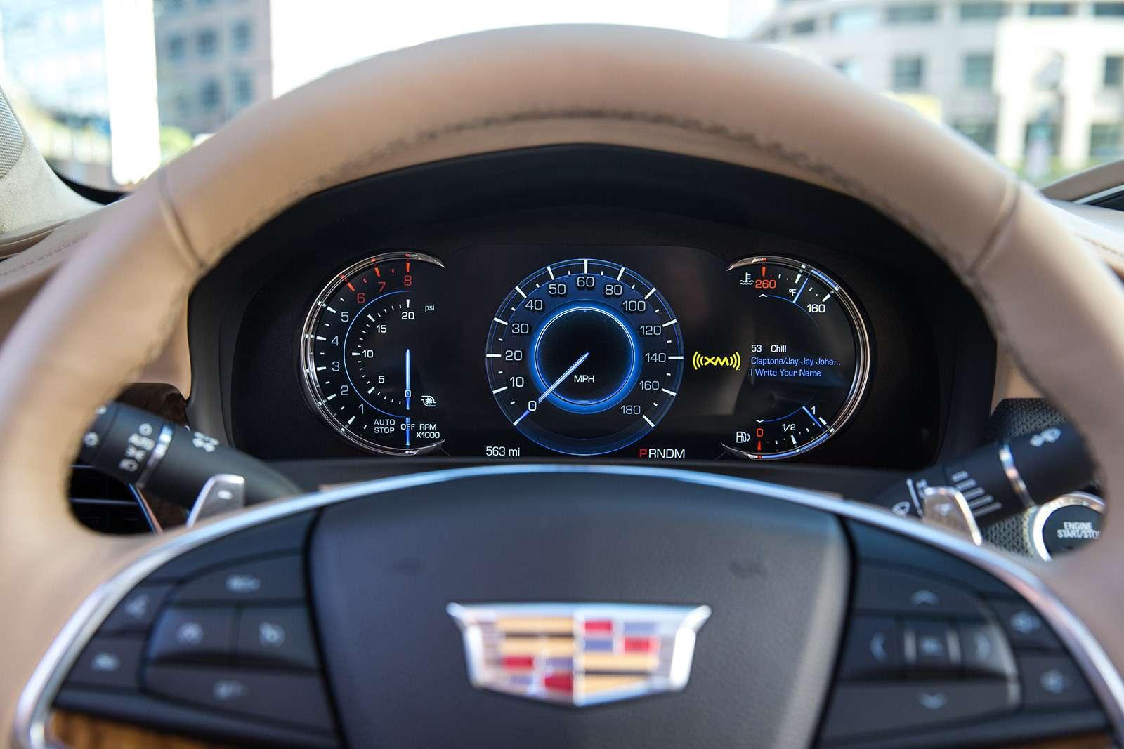 Флагманский седан Cadillac: цены икомплектации вРоссии— фото 823429