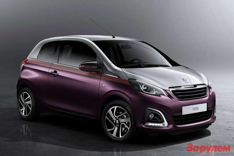 Новый Peugeot 108