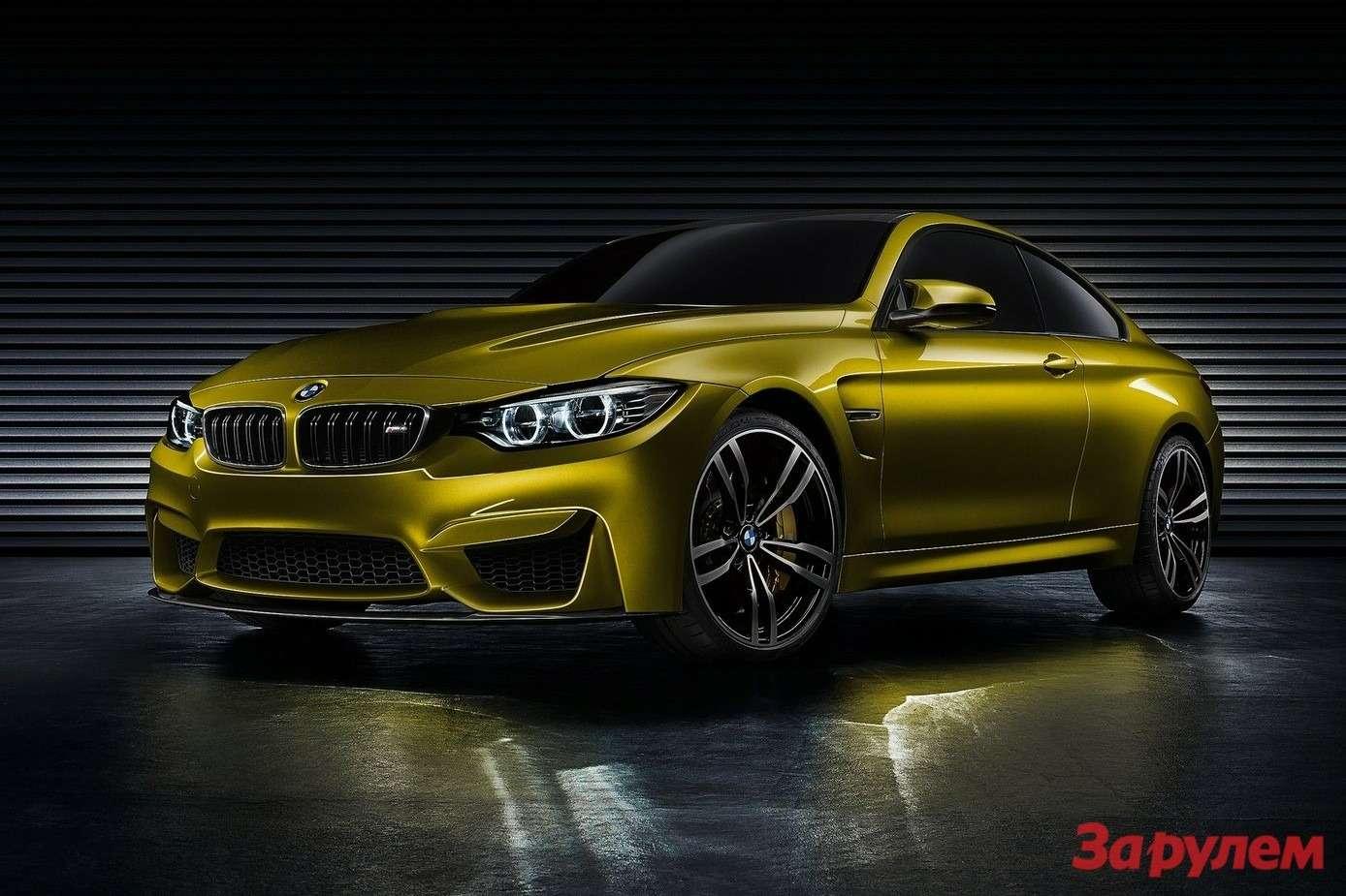 BMWM4Coupe Concept 2013 1600x1200 wallpaper 01