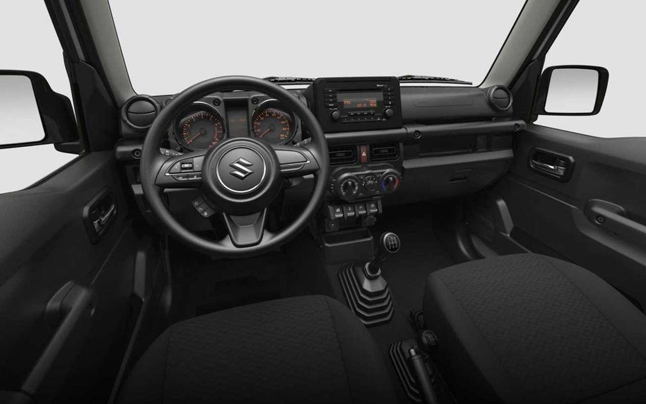 Бюджетный Suzuki Jimny Lite— урезан досамого необходимого— фото 1256639