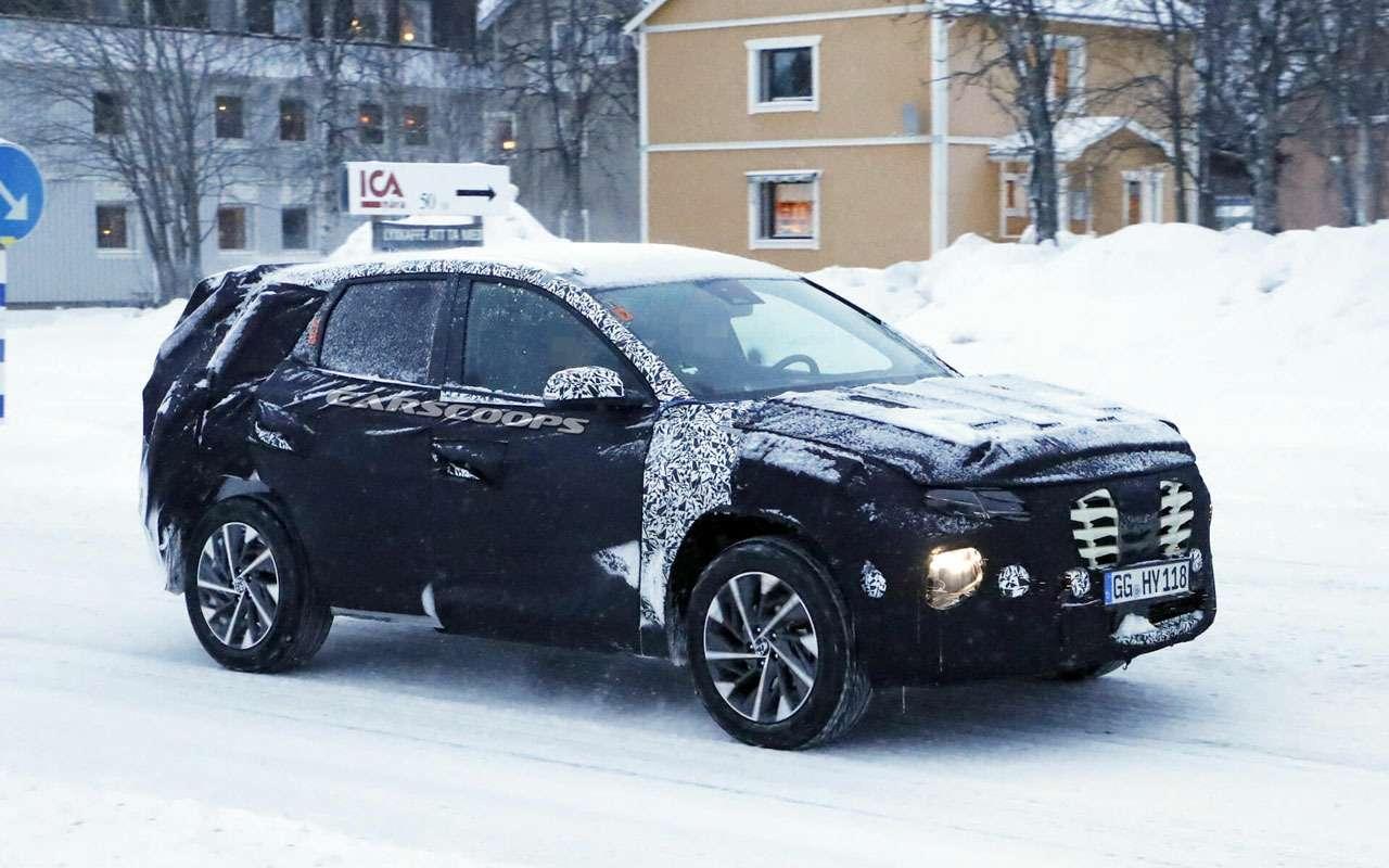 Новый Hyundai Tucson: заканчиваются испытания— фото 1058669