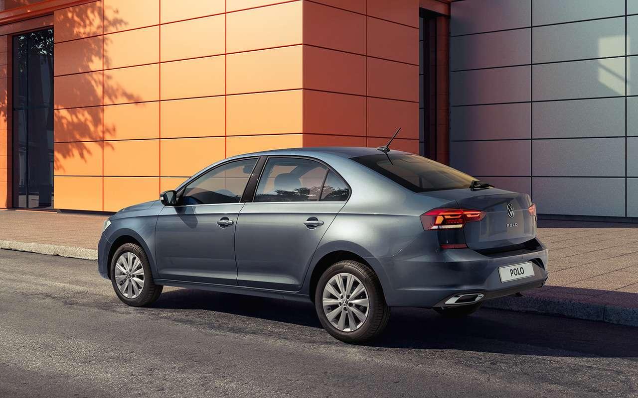 Новый Volkswagen Polo— первые живые фото икомплектации— фото 1087022