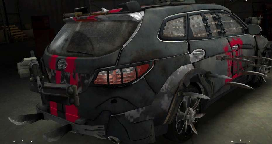 no copyright hyundai santa fe zombie survival machine 003