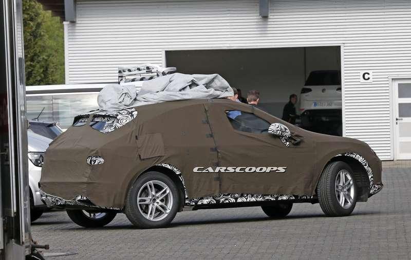 Тайна поддвойным камуфляжем: новый Audi Q3дразнит шпионов
