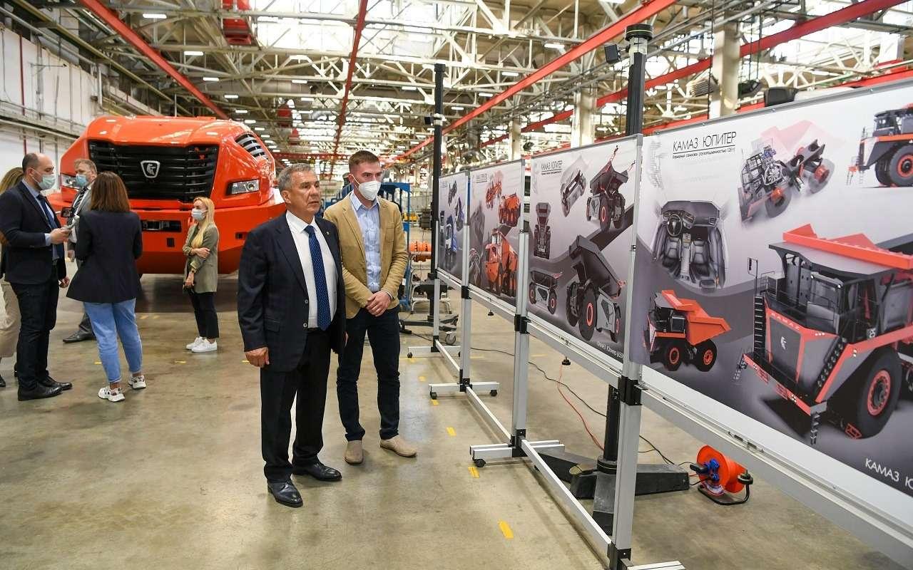 Абсолютно новый отечественный грузовик КАМАЗ Геркулес: первые фото— фото 1252299