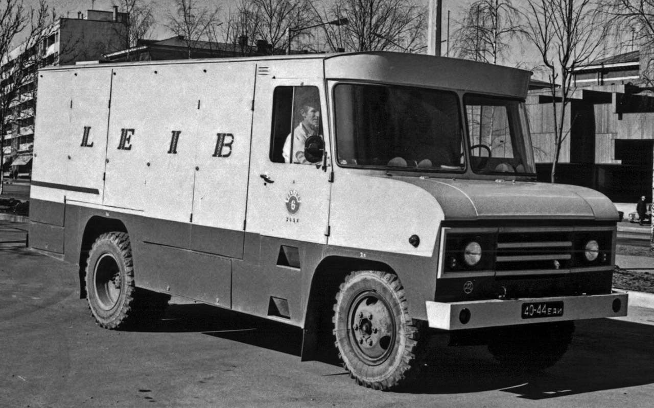 Гибрид УАЗа сГАЗом идругие малоизвестные серийные автомобили СССР— фото 933347